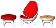 KI Sway Lounge Collection Revit