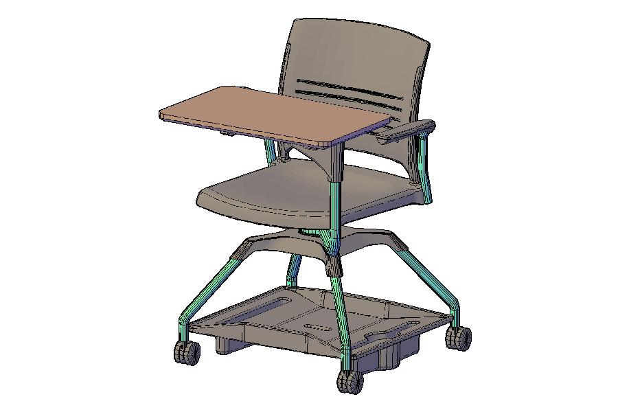 https://ecad.ki.com/LIBRARYIMAGES\SEATING\KII\3DKII/3DKIIL2STPCAPBR.png